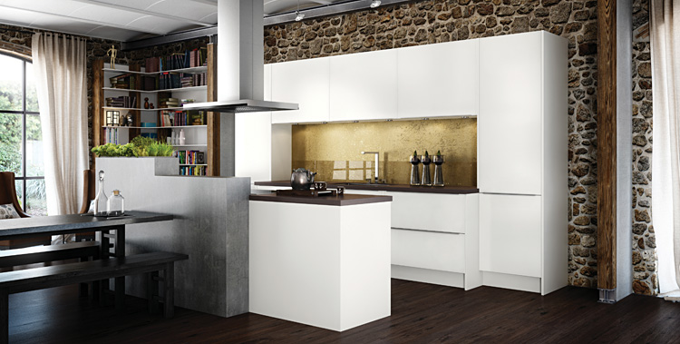 German kitchens firm in manchester unveil new 2012 for Kitchen design zen type