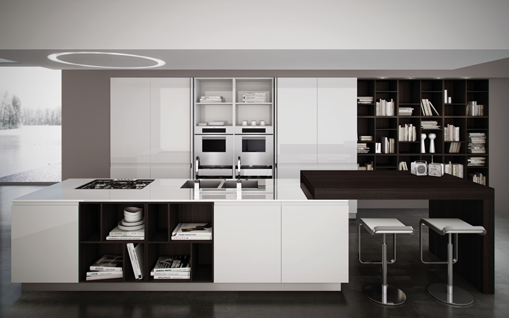 Miton kitchens are an Italian kitchens brand making somewhat small but