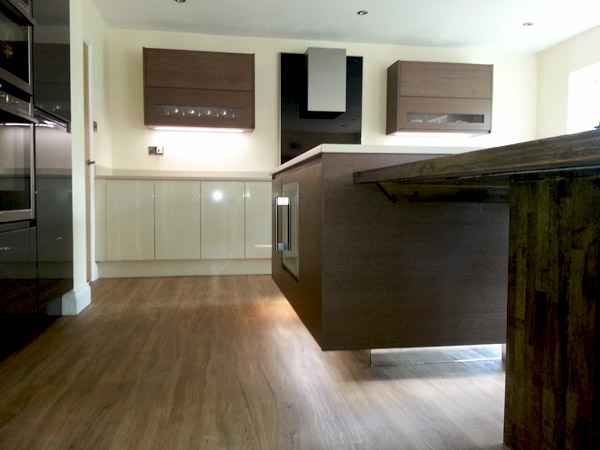 real kitchen case study i-home-interiors high wycombe - island