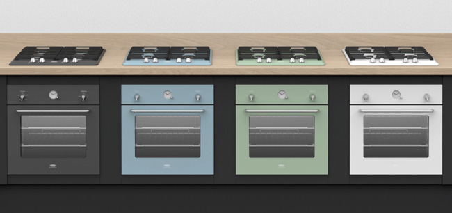 Belling by Sebastian Conran for some colourful kitchens