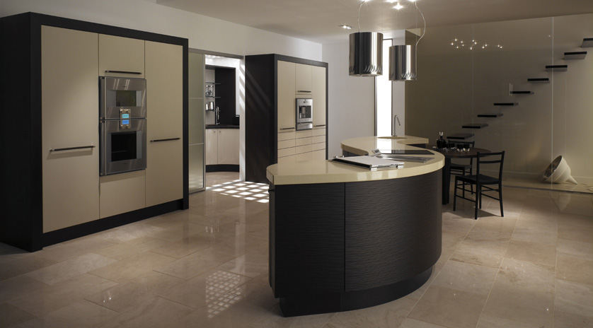 Metris-kitchens-Textured Wenge with Textured Matt Sand