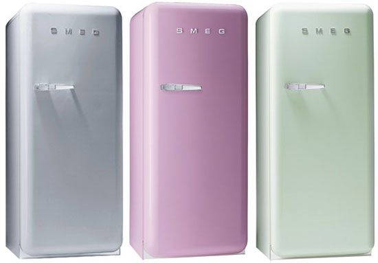 With Colour Comes Great Responsibility - Smeg Pink Fridge