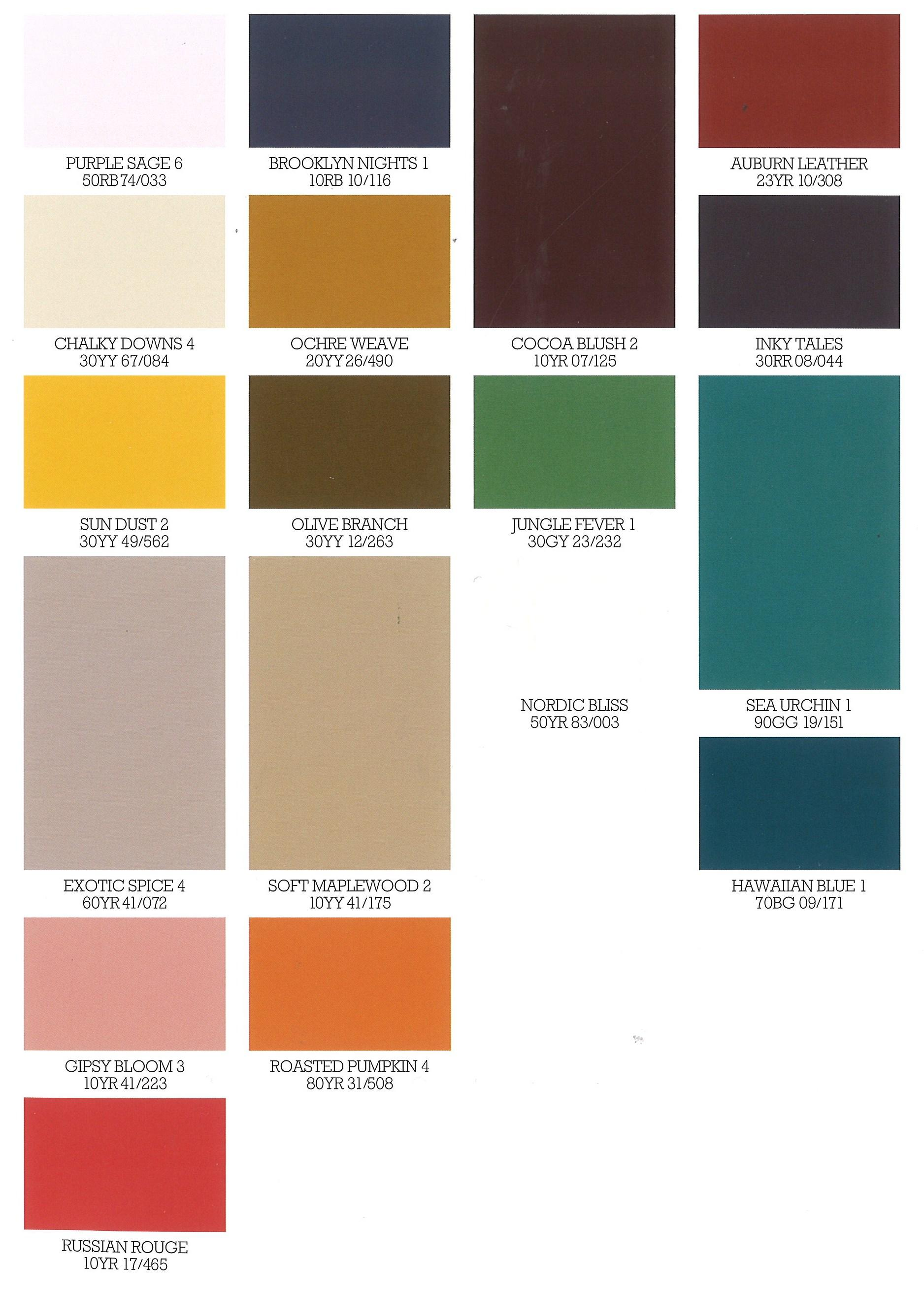 dulux releases its new autumn paint colours kitchens