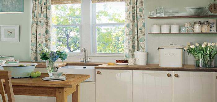 Islington Creamware Laura Ashley Kitchen