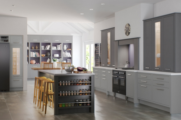 The Award winning EnglEnglish Revival range by Mereway kitchens