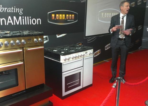 AGA Rangemaster one millionth range cooker