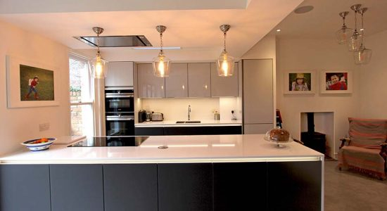 Real Kitchen Installation In Liverpool Of Next 125 By Schuller Kbb
