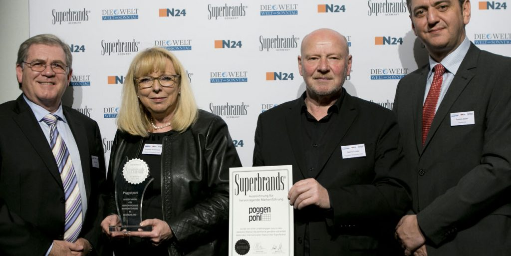 Poggenpohl has made the Superbrands Germany