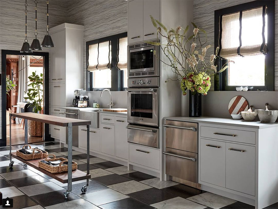 Bon ... White And Gray Palette Using Vividly Modern Applications To Redefine  The Timeless Kitchen Into A Beautiful, But Highly Usable, Space.