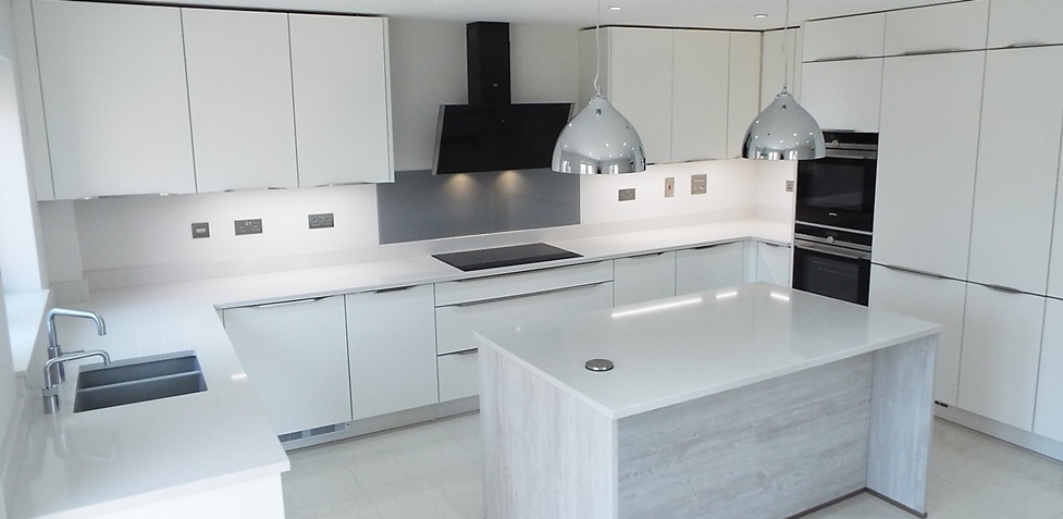 I-home Interior Design Part - 27: This Real Kitchen Using Nobilia Was By IHome Interiors Of Buckinghamshire  For A Customer In St Albans.