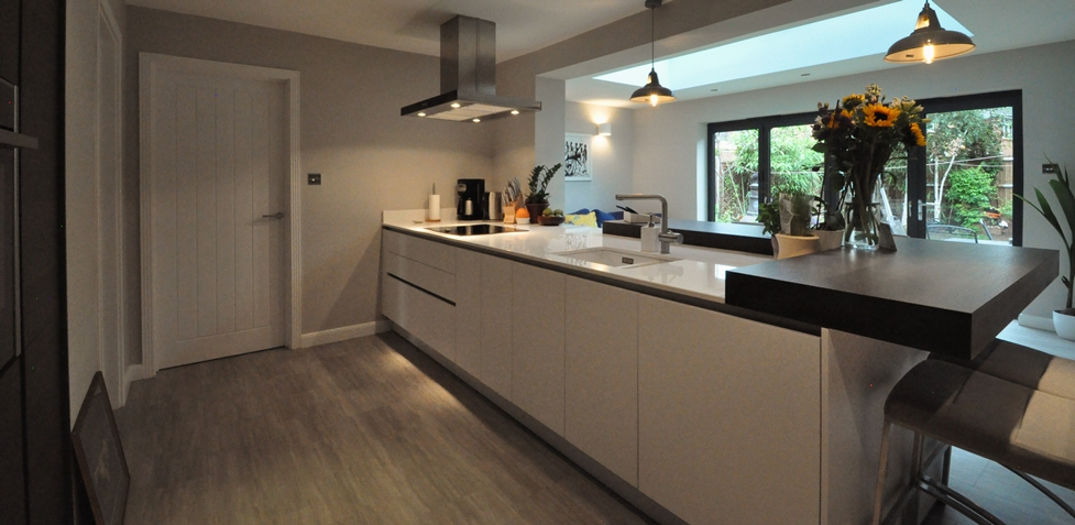 Real Kitchen Using Nobilia German Kitchens In Maidenhead