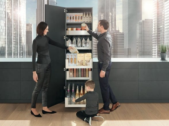 Blum Space Tower Larder Unit