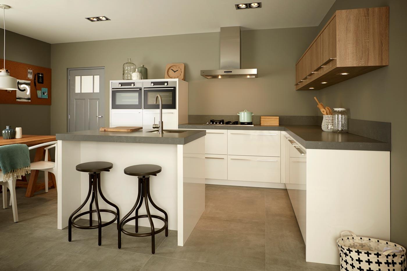 keuken quartz oak