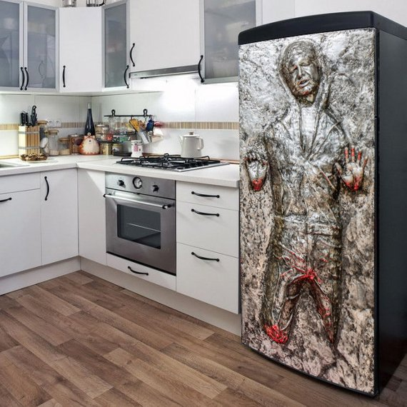Han Solo Frozen in Carbonite fridge