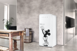 Mickey Mouse Smeg fridge