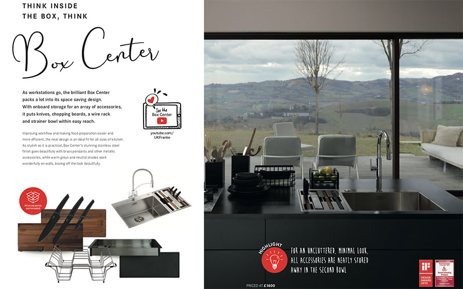 Franke Highlights Brochure - Box Centre Sink