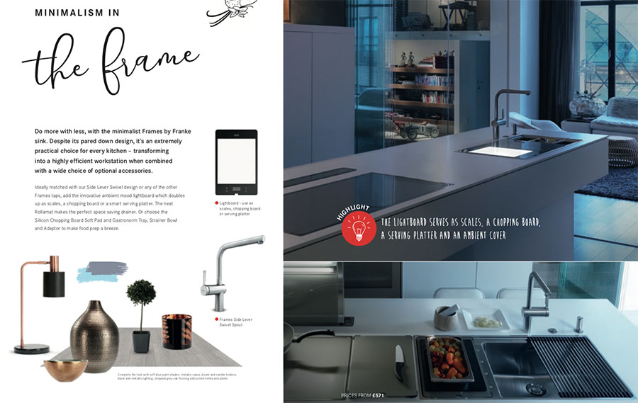 Franke Highlights Brochure - The Frame & Lightboard