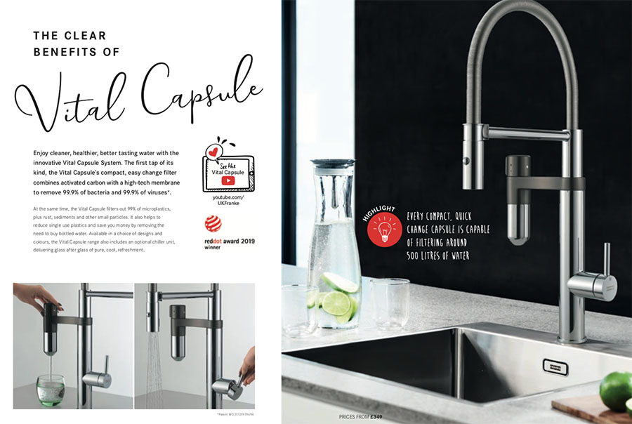 Franke Highlights Brochure Vital Capsule