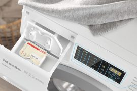 Miele GuideLine washing machine for the blind